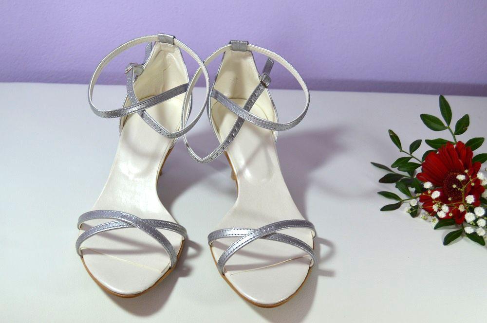 Stříbrné sandálky s inspirací od Stuart Weitzman v K-stylu s úpravou podle  slečny Anity 703250f9b1