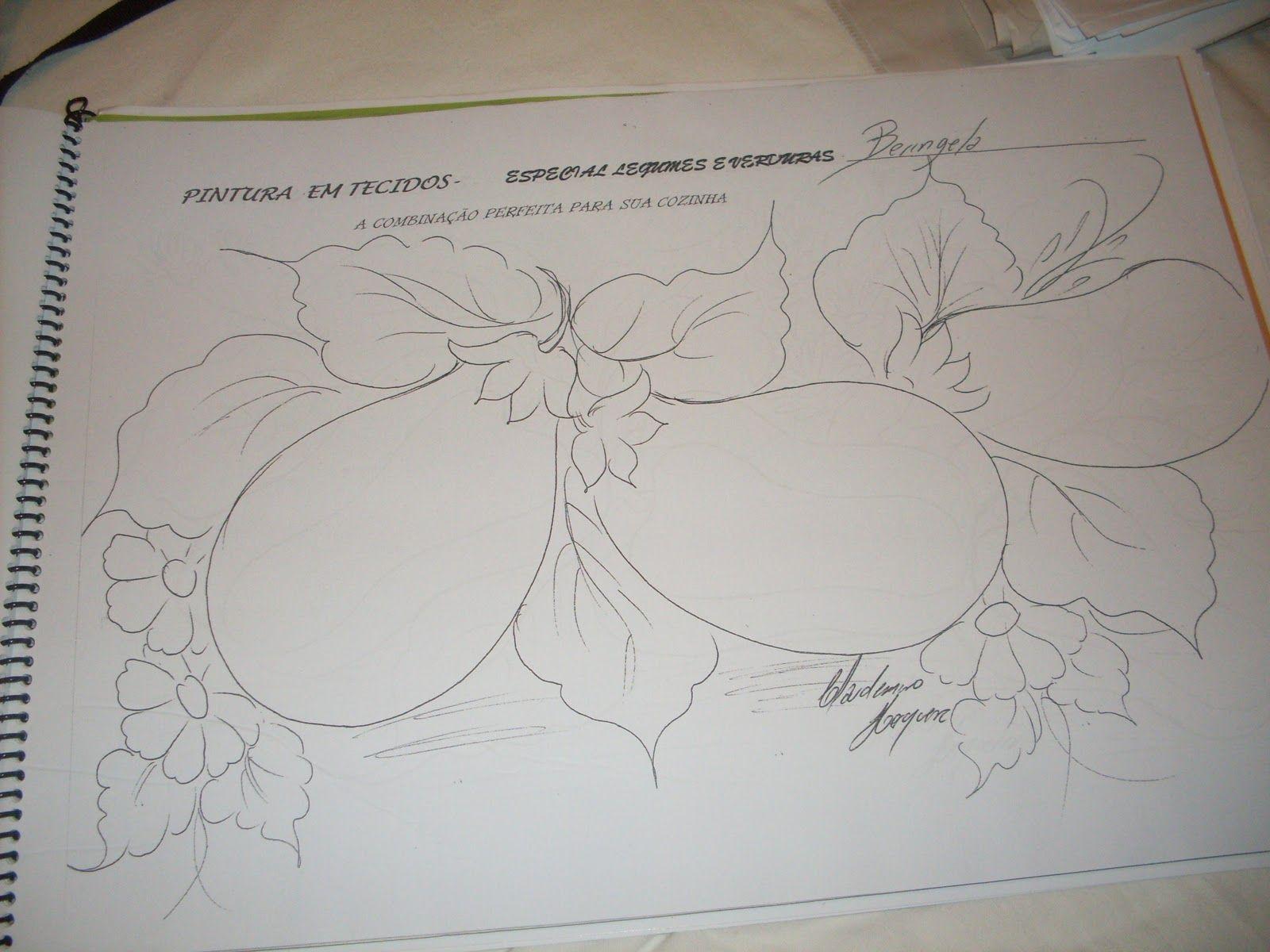 Apostilas De Riscos Para Pintura Em Tecidos Com Imagens Riscos