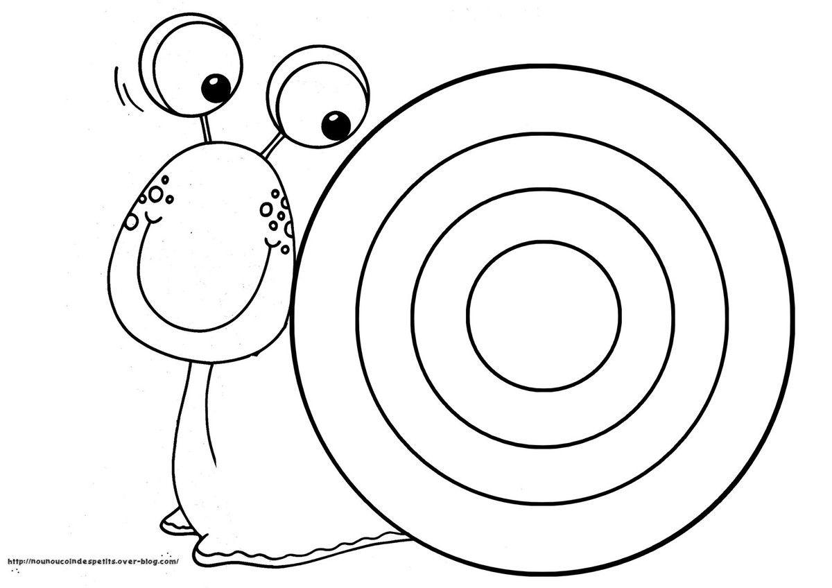 Pour le printemps coloriages escargot maternelle coloriage escargot et escargot - Escargot maternelle ...