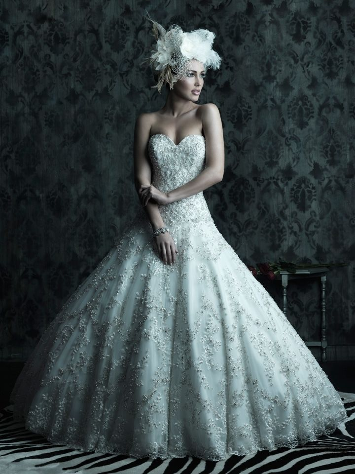 Allure Bridal Gowns | 2013-wedding-dress-allure-couture-bridal-gowns ...