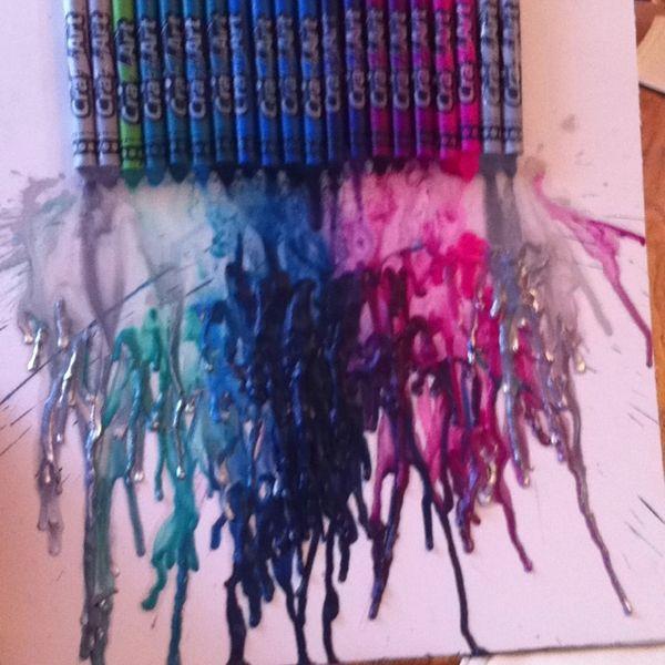 crayon art.. love it