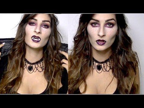 lufy vampire pour halloween tutoriel makeup tutoriels halloween pinterest. Black Bedroom Furniture Sets. Home Design Ideas
