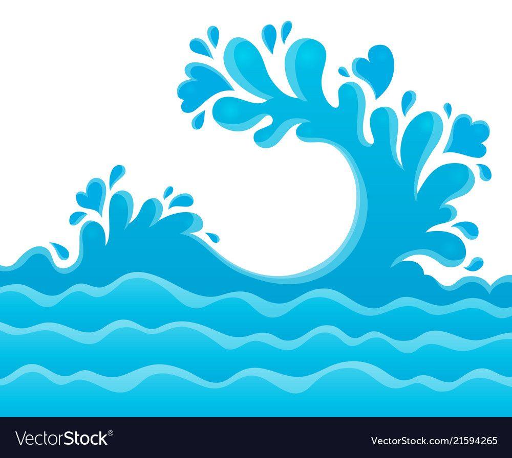 Water Splash Theme Image 6 Royalty Free Vector Image Water Splash Vector Cartoon Clip Art Vector Free