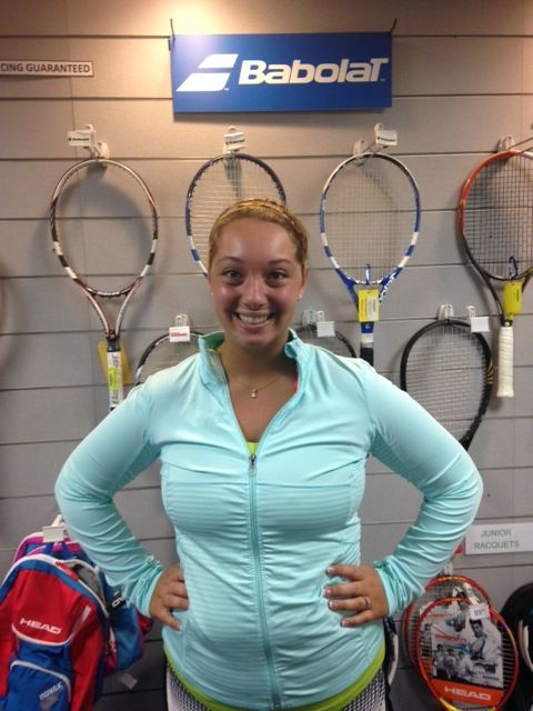 """Congrats to Erin Henrickson on becoming PTR certified in """"10 & Under by Professional Tennis Registry"""". Visit http://www.obparks.org/tennis/index.asp to learn more about the Oak Brook Park Districts Tennis Center."""