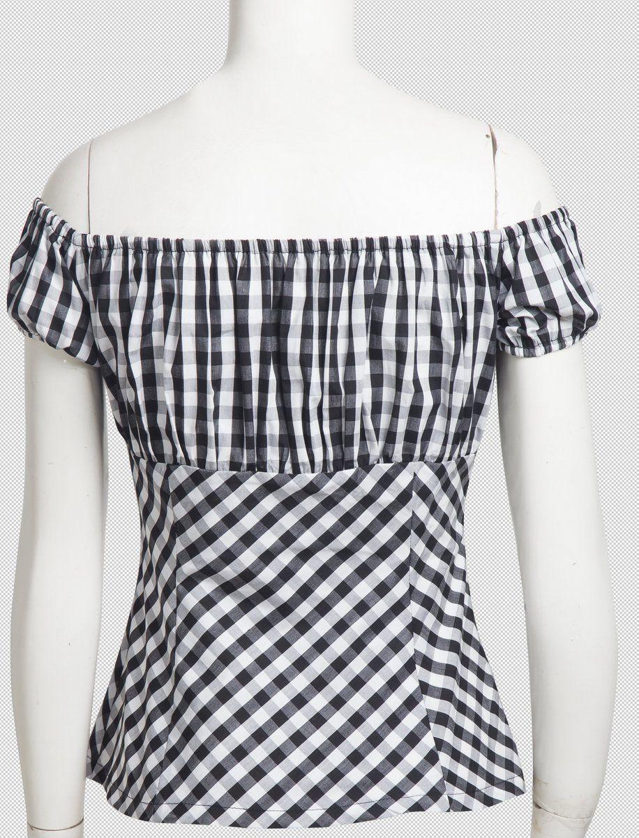 Resultado de imagen para moldes de blusa campesina para descargar ...