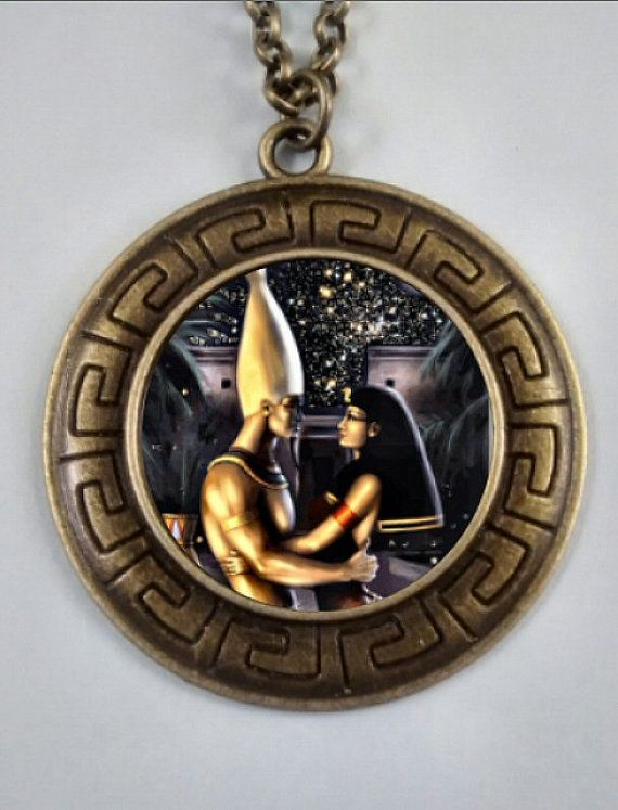 enchantments isis pendant silver jewelry necklace goddess egyptian