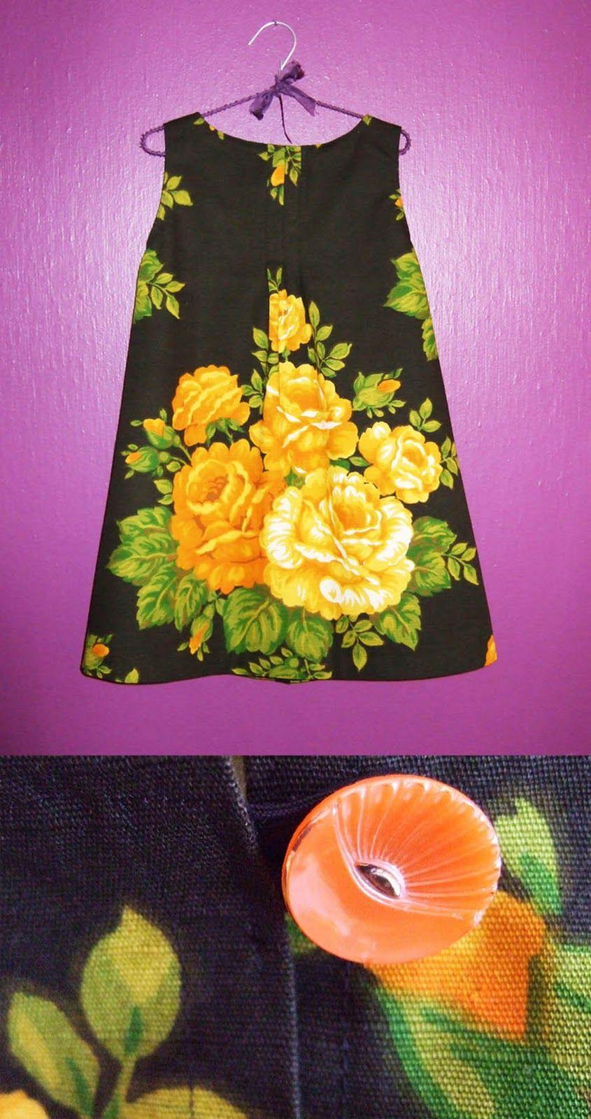 Cecilie-design: Nytt år i ny kjole - a new dress for the new year