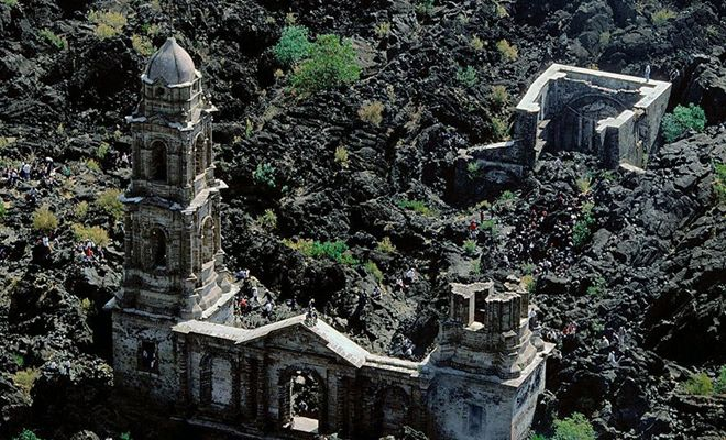 Reign in Fire… 7 Churches Devoured by Lava