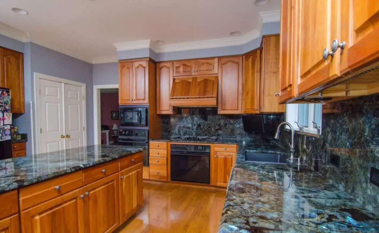 Blue Granite Kitchen Countertops Blue Granite Counter Tops For