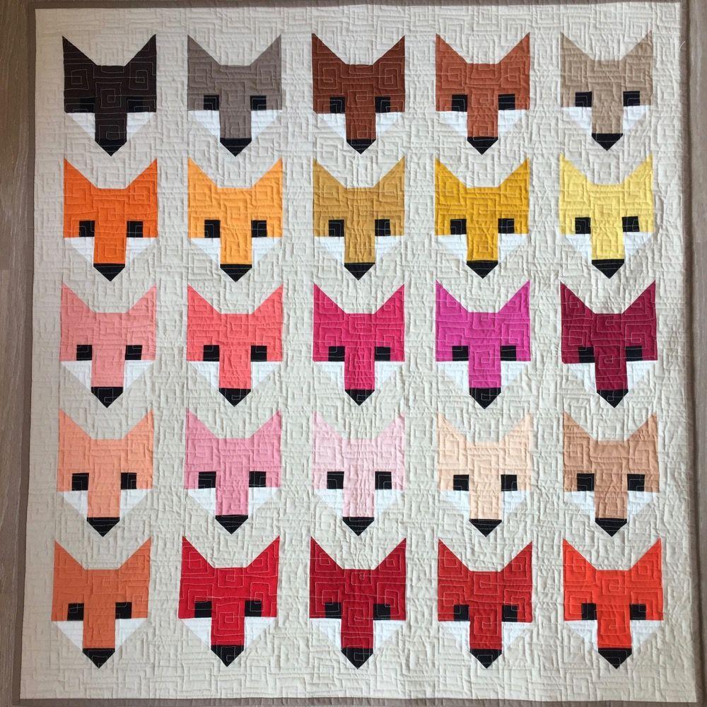 Fancy Fox nach Elisabeth Hartman