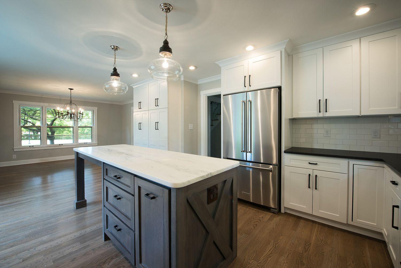Meridian Kessler; Indianapolis; Kitchen Remodel; Custom Built Island. Photo  By: @