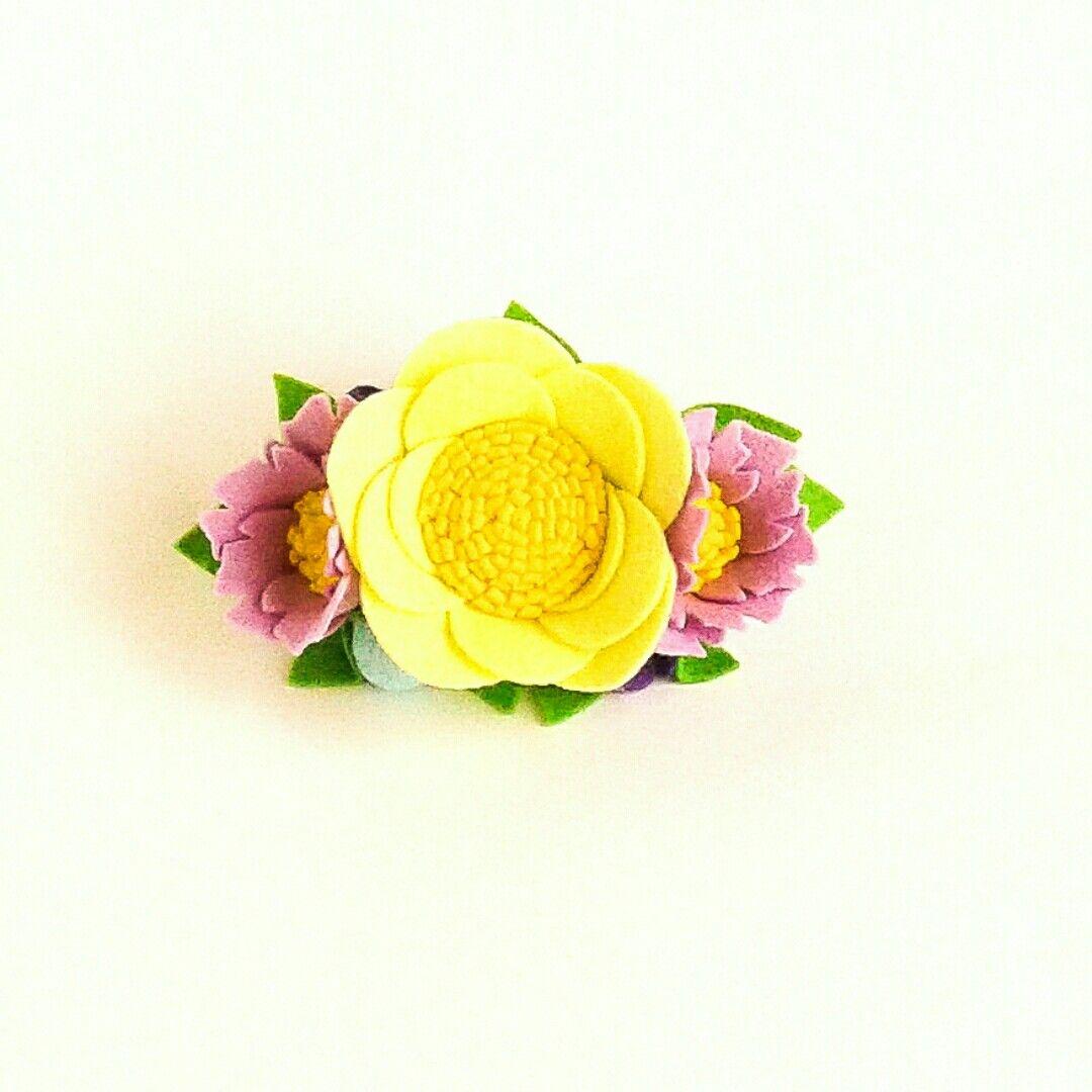 Baby fühlte Blumenstirnband    – Blossom Store Boutique