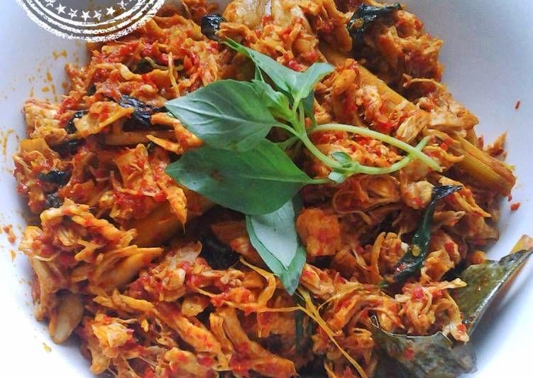Resep Ayam Suwir Kemangi Bumbu Bali Oleh Melysa Tisa Haruna S Kitchen Resep Resep Ayam Resep Makanan Sehat Makanan Ringan Sehat