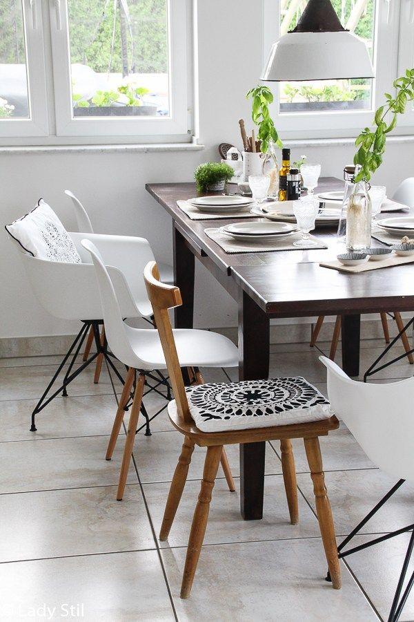 fünf Tipps für den Stühle-Mix | Küchendekoration, Stühle ...