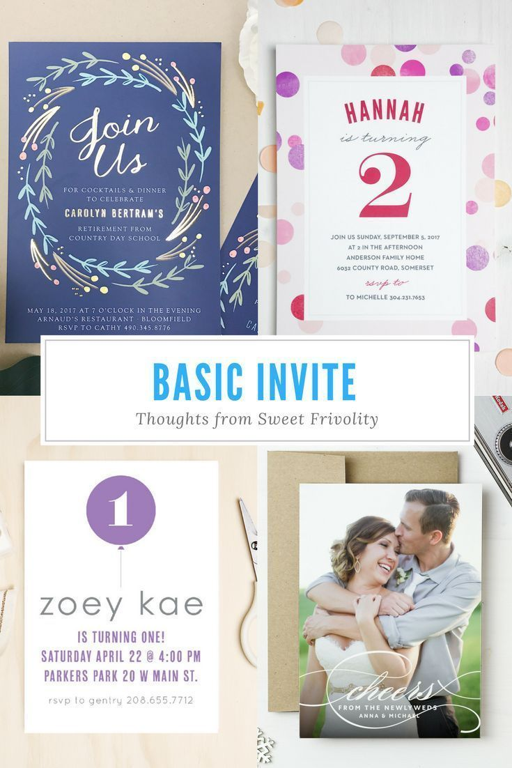 If youre considering Basic Invite for your party or wedding