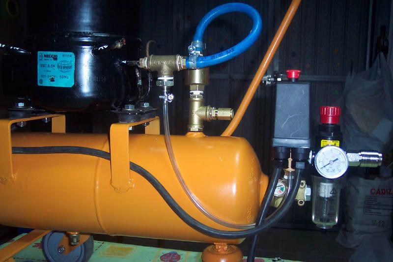 Compresor Casero Para Aerografo Compresor Compresor De Aire Compresor Para Pintar