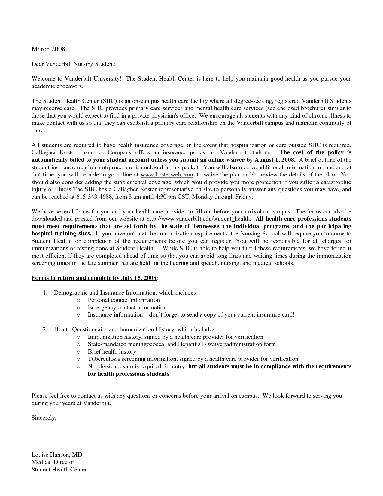 Sample Nursing School Cover Letter New Grad Nurse Example  Home