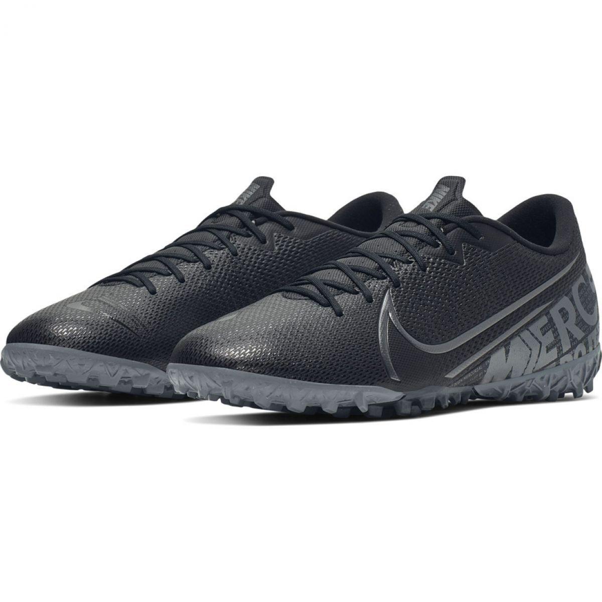 Buty Pilkarskie Nike Mercurial Vapor 13 Academy Tf M At7996 001 Czarne Soccer Shoe Football Shoes Black Shoes