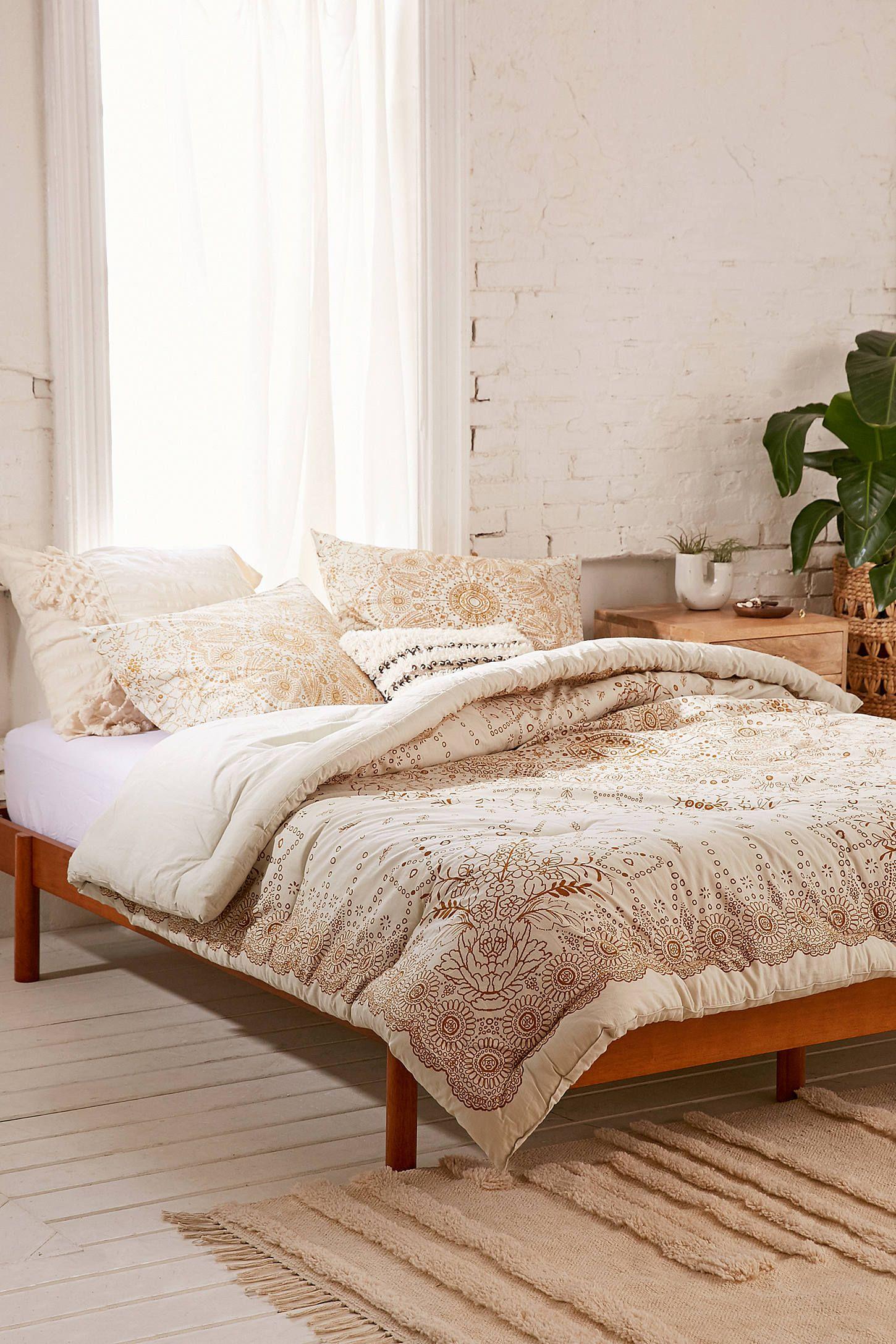 Amalie Medallion Comforter Home decor, Room inspiration