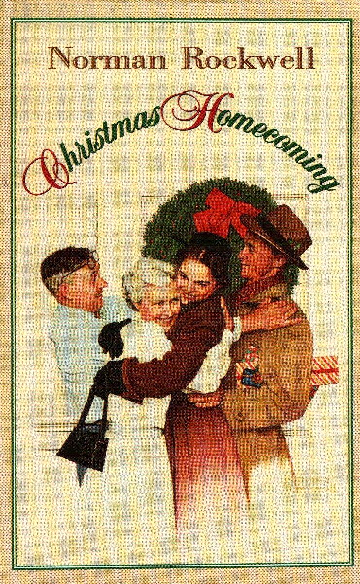 Norman Rockwell Christmas Print (1948)   A CLASSIC CHRISTMAS ...