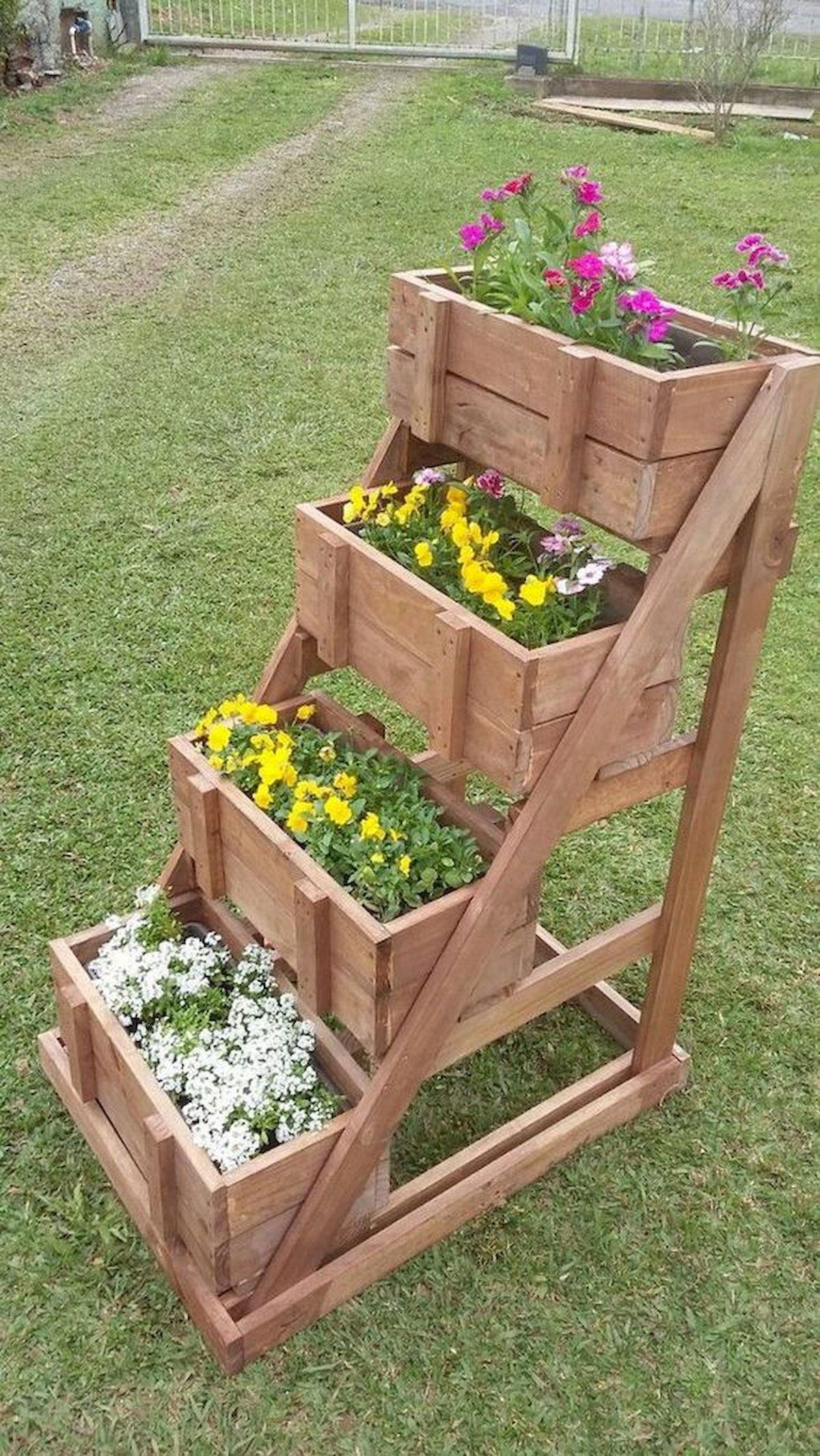 50 Inspiring Diy Projects Pallet Garden Design Ideas Statues And