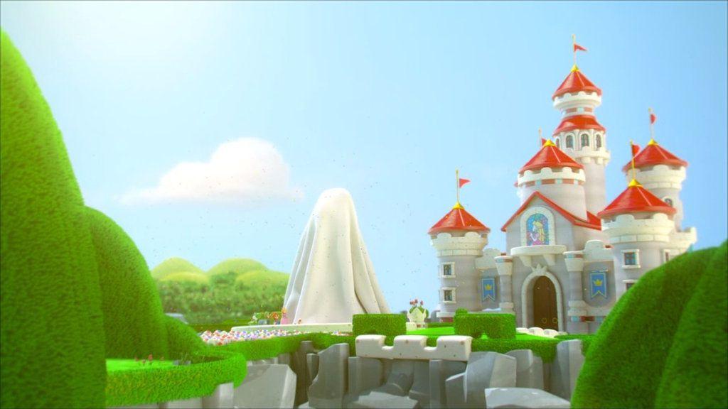 Peach S Castle Mario Rabbids Kingdom Battle By Banjo2015