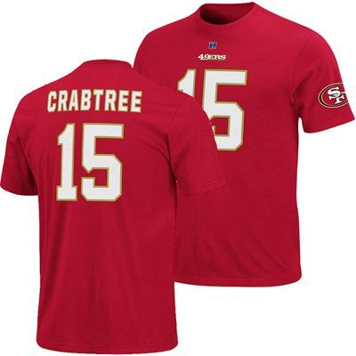 San Francisco 49ers NFL Michael Crabtree  15 Eligible Receiver Name    Number T-Shirt b9e45f80b