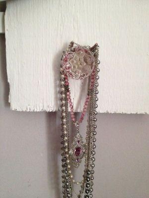 DIY Jewelry Storage Organizer Hanging Jewelry Organizer Ideas