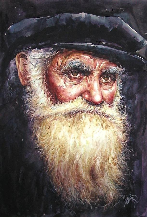 Dervish By Atanur Dogan En 2020 Portrait Peinture Art Visage Et