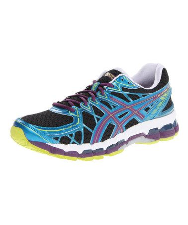 This Black Plum Blue Gel Kayano 20 Running Shoe Is Perfect