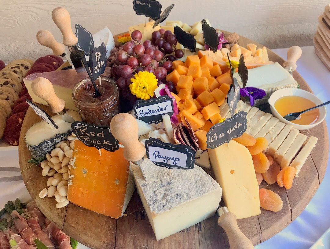 Cheese Board- payayo, brie, red rock, leonara, gouda, 1000 day gouda, brabander, englishcheddar, manchego, cheddar