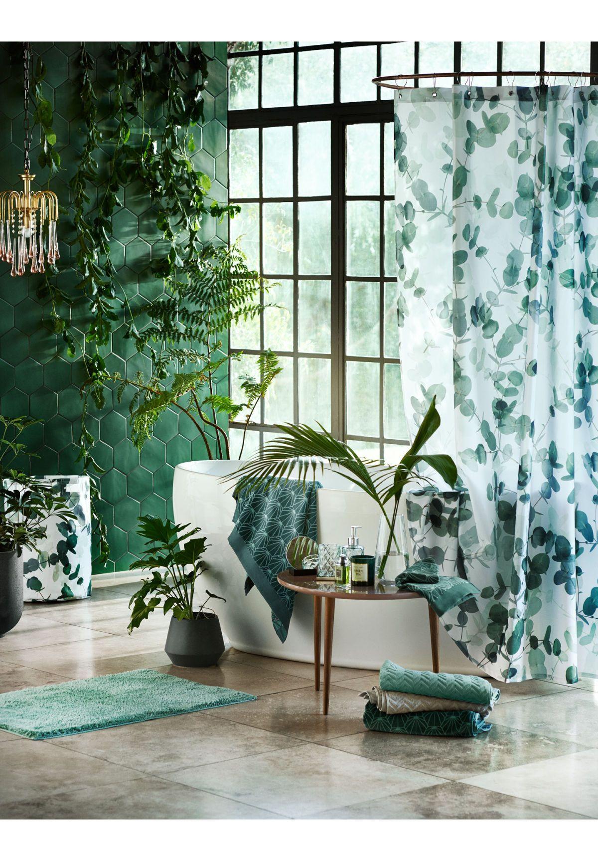 Vrolijk Elke Ruimte Op Met Nieuwe Woonaccessoires En Groene Tinten Prachtige Badkamers Thuis Thuisdecoratie