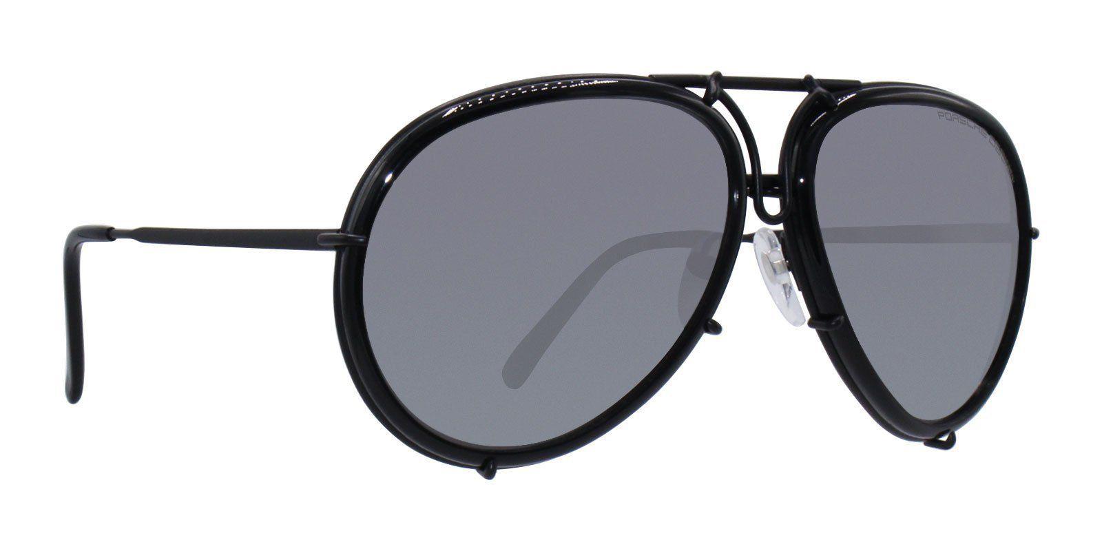 0642b85928d Porsche Design. Porsche Design - P8613 Black - Gray-sunglasses-Designer Eyes