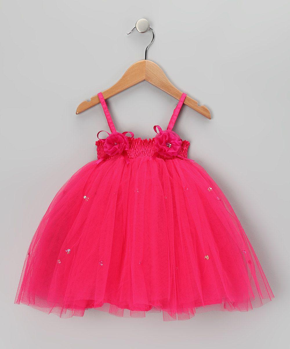 Look what I found on #zulily! Fuchsia Ashley Dress - Toddler & Girls by Fairy Dreams #zulilyfinds