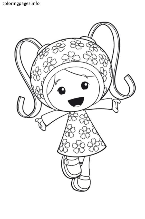 team umizoomi girl coloring pages | Team umizumi birthday ...