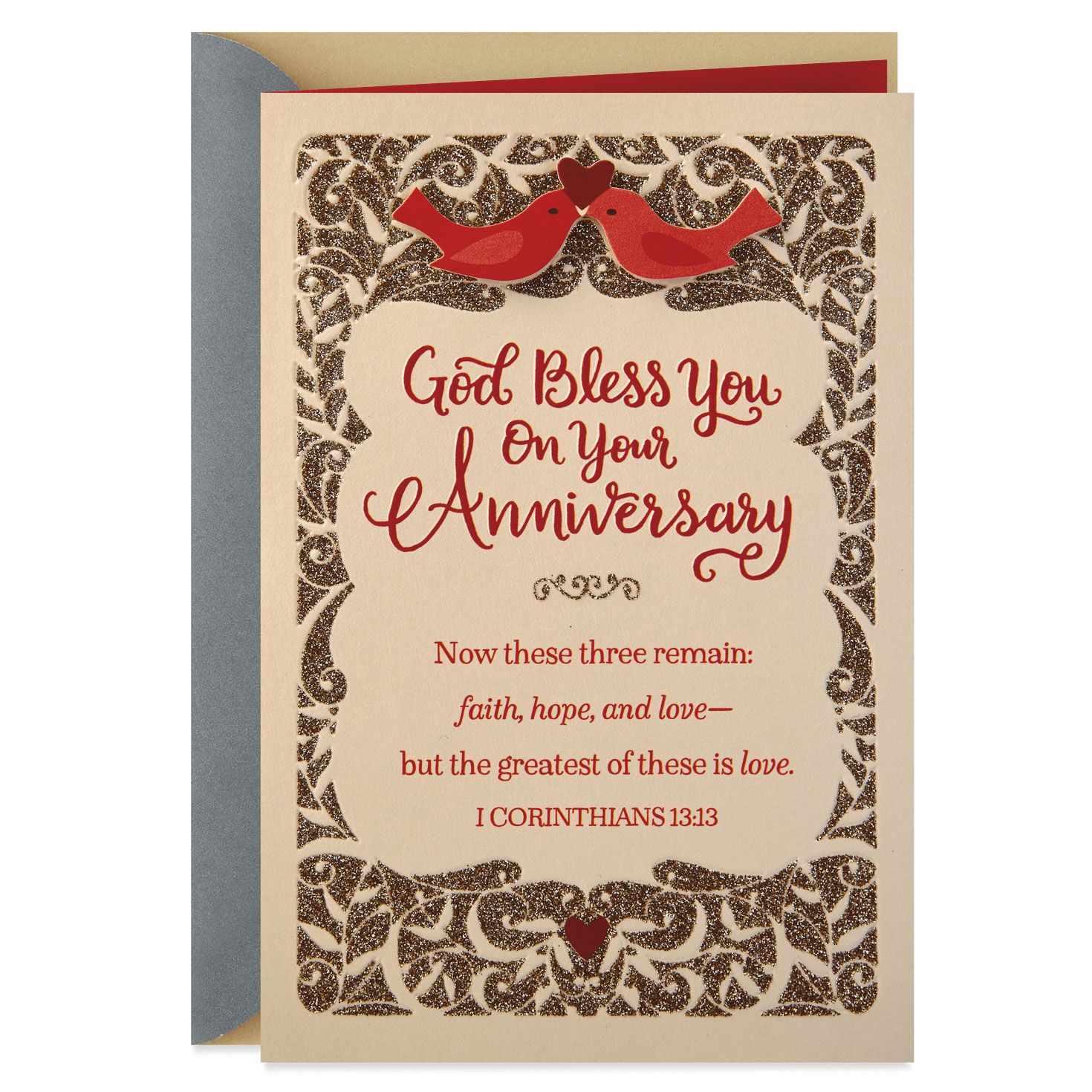 Floral Succulent Anniversary Wedding Greeting Card Bible Verse Scripture Typography Call Wedding Anniversary Message Wedding Greeting Cards Anniversary Message