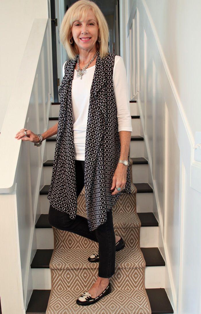 cebe41a25cb5 Fashion Over 50  Sassy Leopard Top