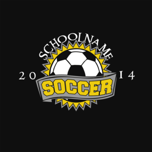 Soccer T-shirt design idea | Past Sample Artwork | Pinterest