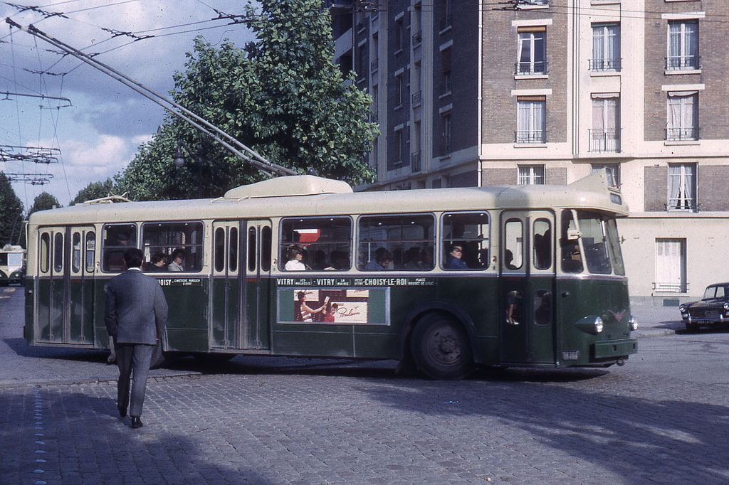 Jhm 1965 0751 paris trolleybus vetra - Bus 183 porte de choisy horaire ...