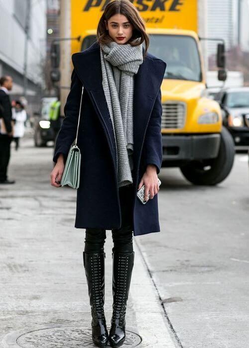 CACHECOL, LENÇO ou ECHARPE: e aí, vai de quê?? | Ideias fashion, Street  style winter, Moda de nova iorque