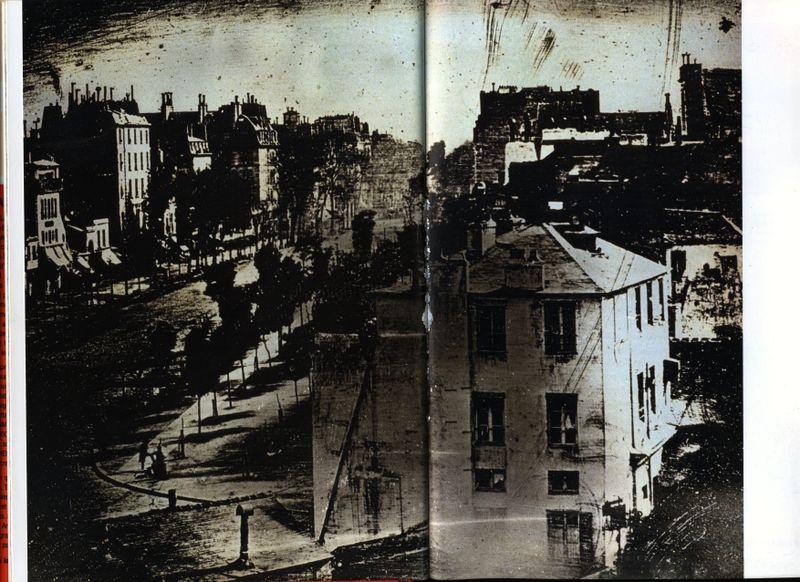 Primera fotografía ficcional. Daguerre.