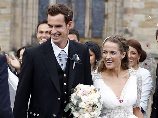 O tenista Andy Murray trocou as alianças com Kim Sears neste final de semana | Notas | Glamurama