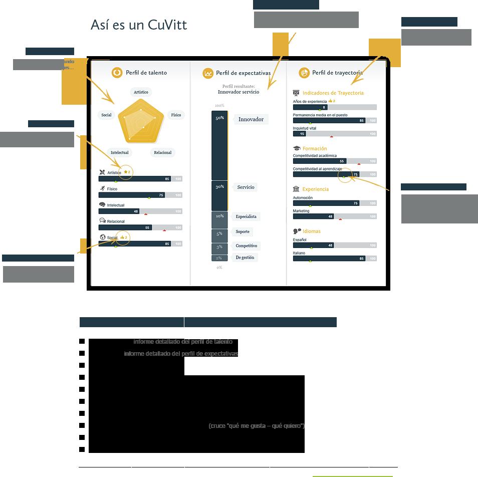 Cuvitt CV Sample In Spanish, Cuvitt CV Ejemplo En