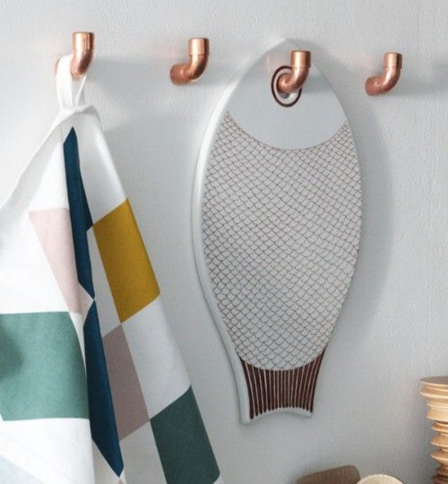 15 Unusual and Creative Repurposed Wall Hooks - Page 2 of 3