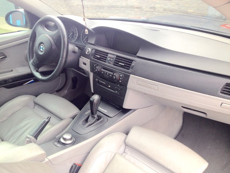 Fiebre Carbon Interior M3 E92 Look With Images Gear Stick Bmw