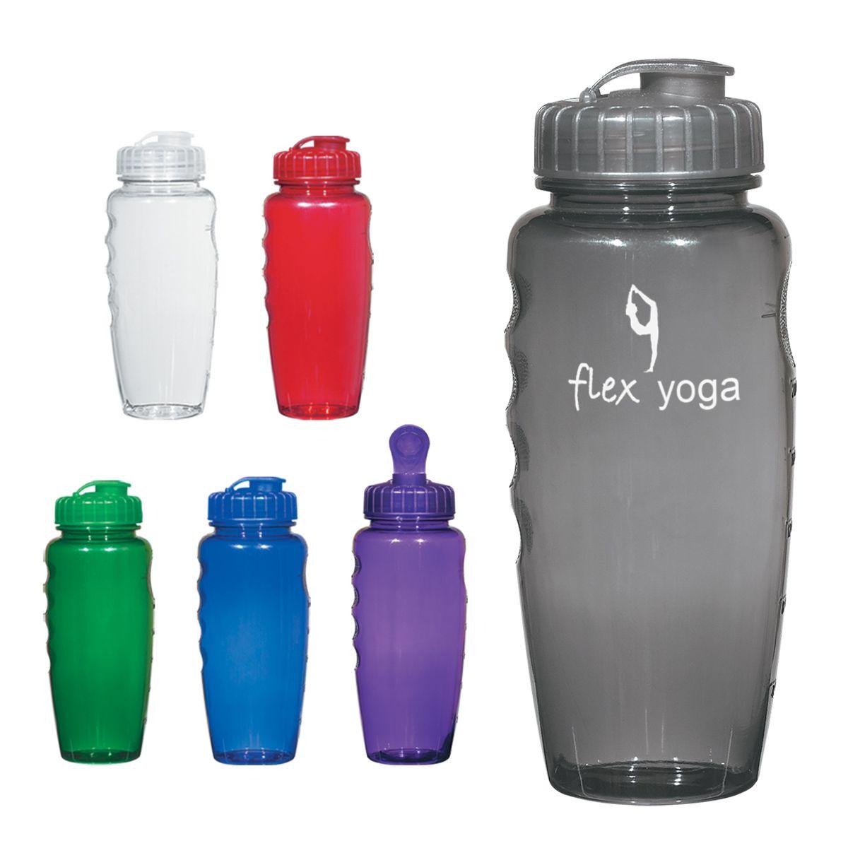 5898 PolyClear™ 30 Oz. Gripper Bottle Bottle, Water