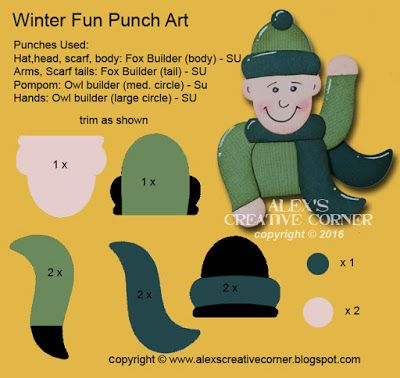 Creative Corner Alex: Noël en juillet Tags - Plaisirs d'hiver