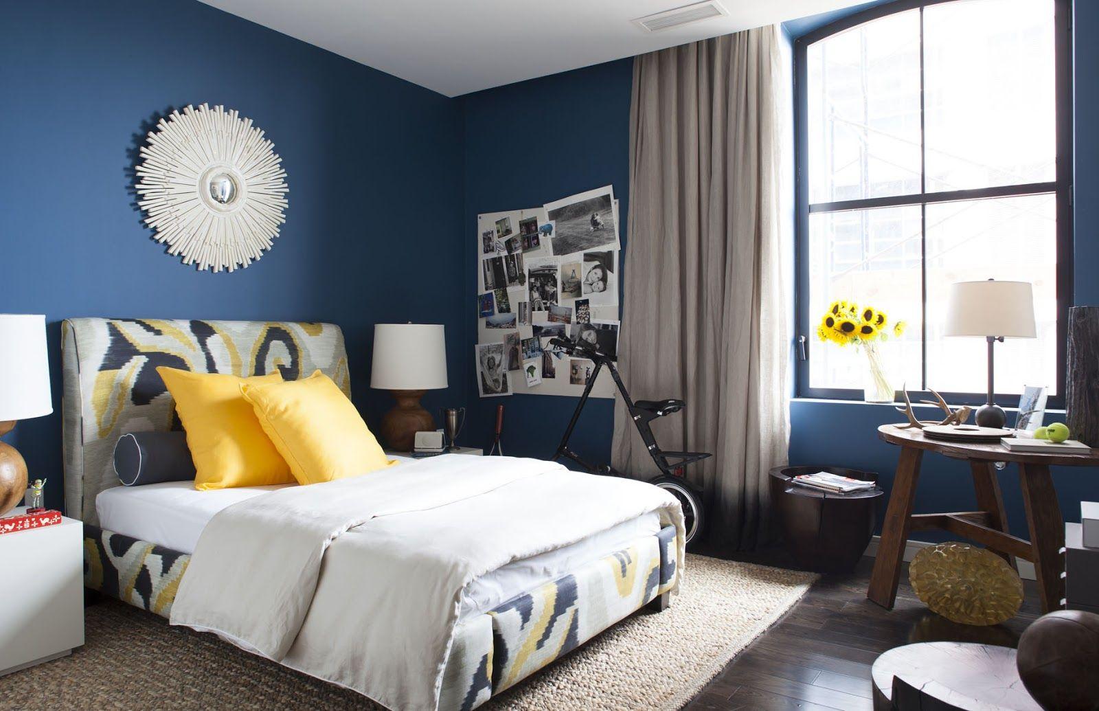 Blue Distressed Bedroom Furniture