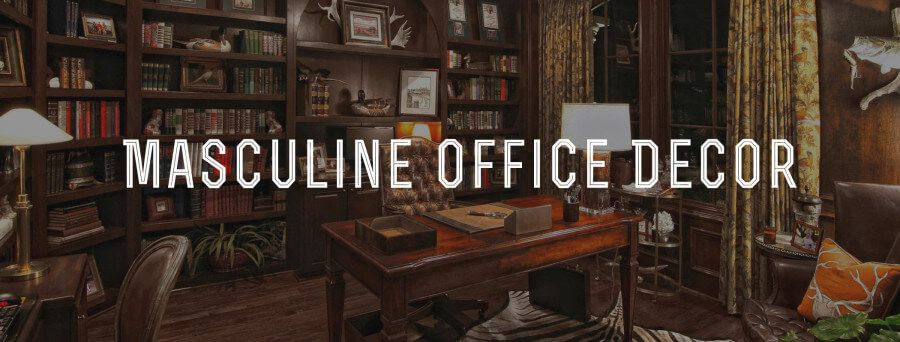 A Short Primer On Tips And Tricks To Make Your Office Man Cave With Recommended Sites For Masculine Furniture Accessories