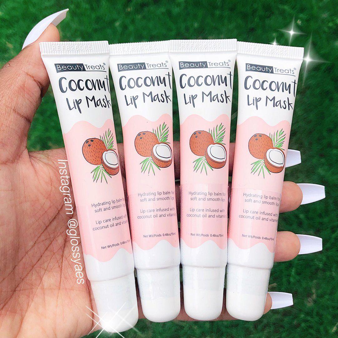 Beauty Treats Coconut Lip Mask Glossyaes Beauty Treats Lip Mask Beauty Skin Care